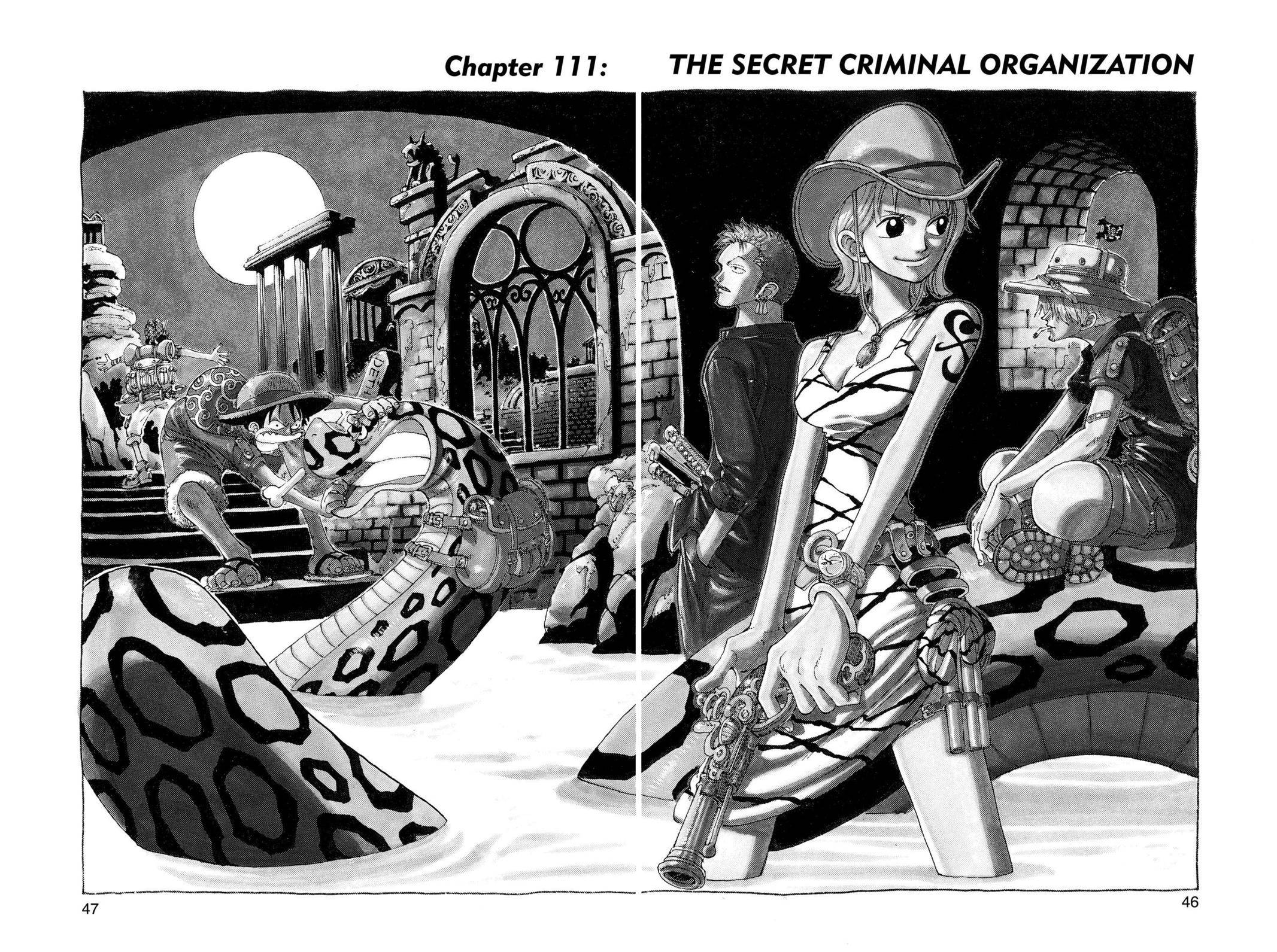 One Piece Chapter 111 Page 1