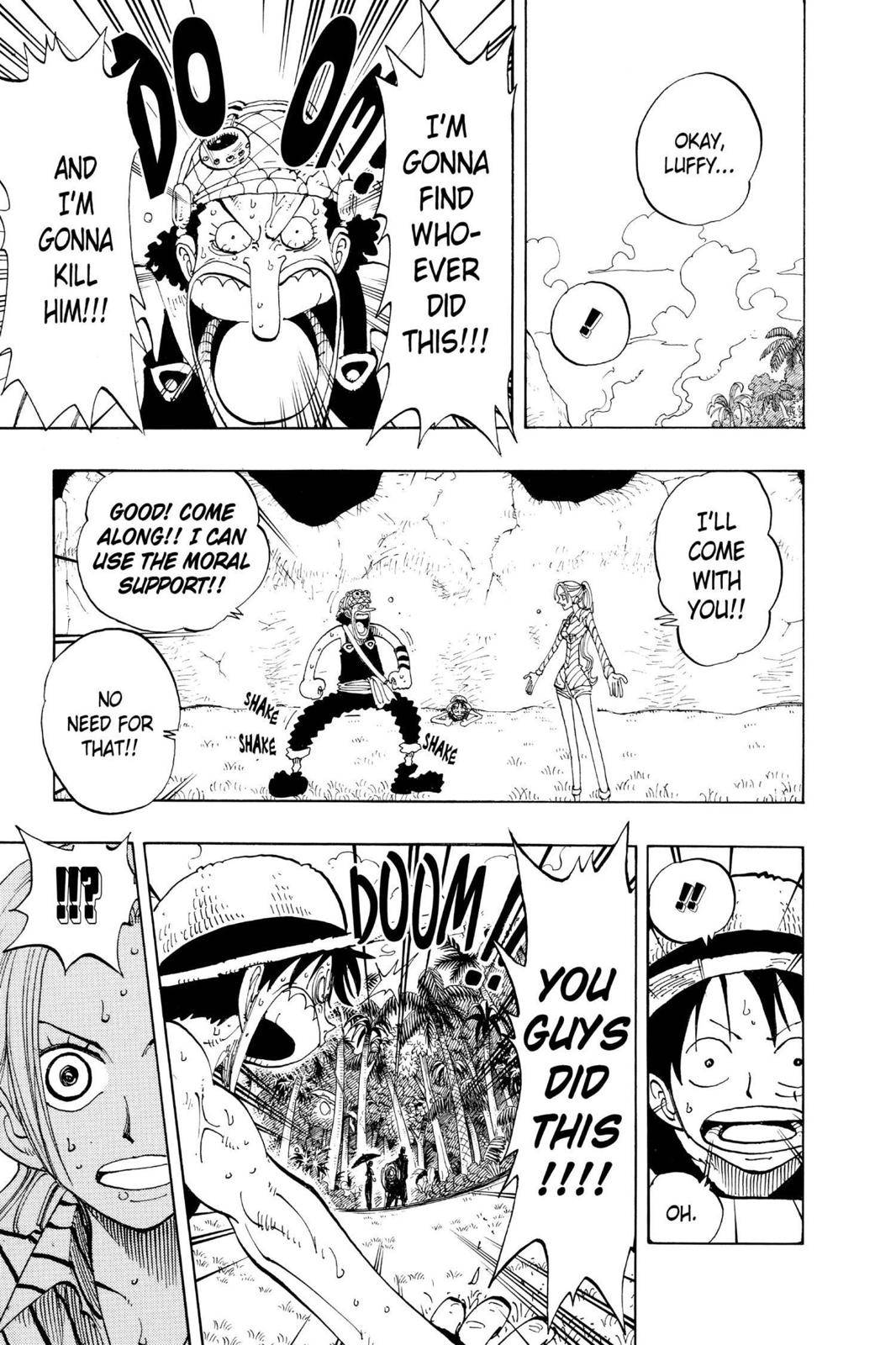 One Piece Chapter 120 Page 11