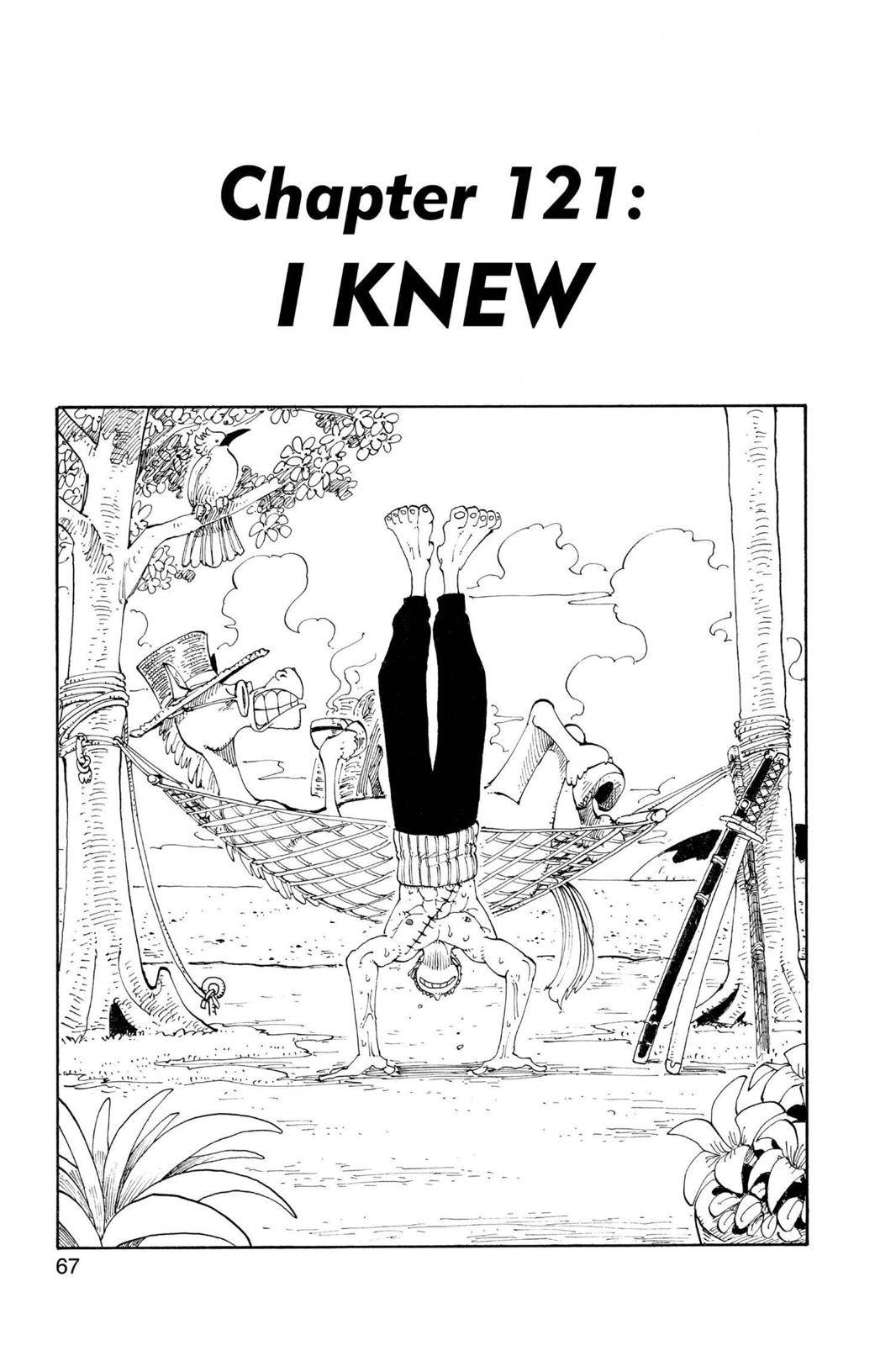 One Piece Chapter 121 Page 1
