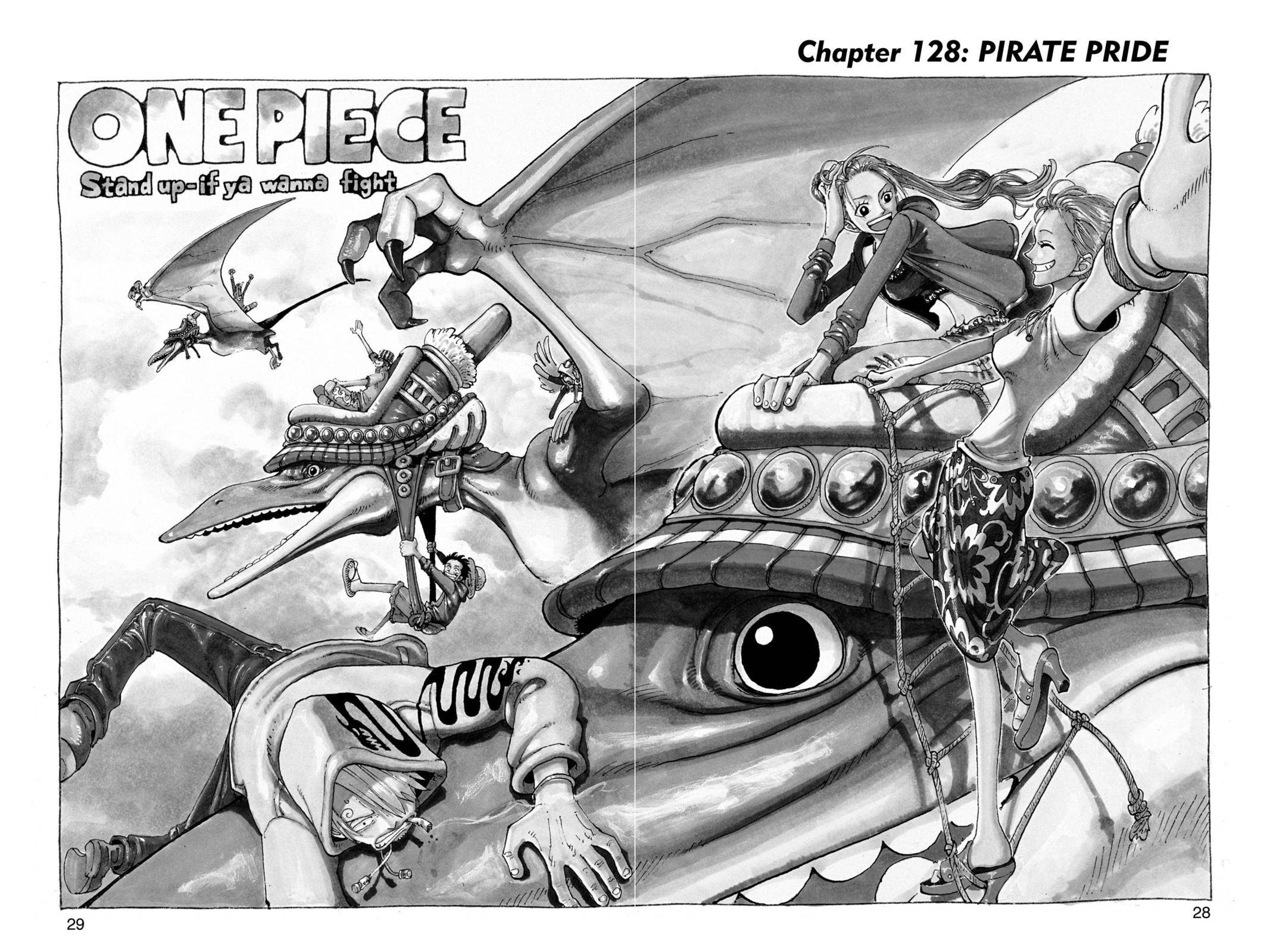 One Piece Chapter 128 Page 2