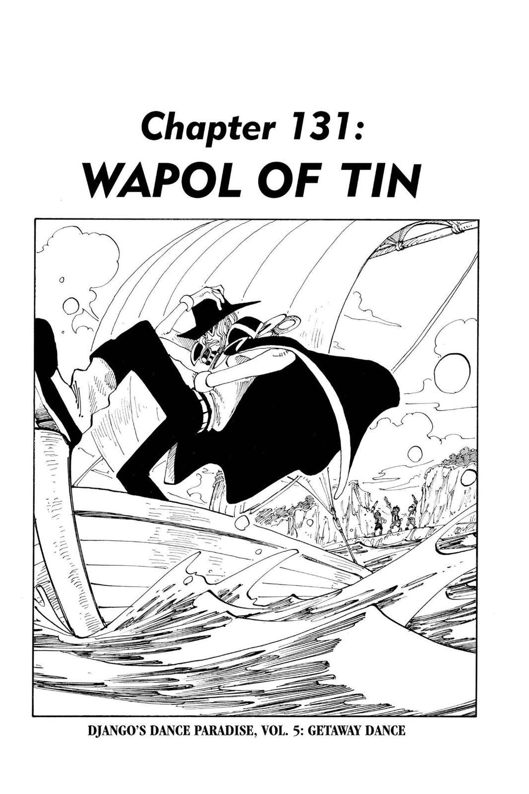 One Piece Chapter 131 Page 1