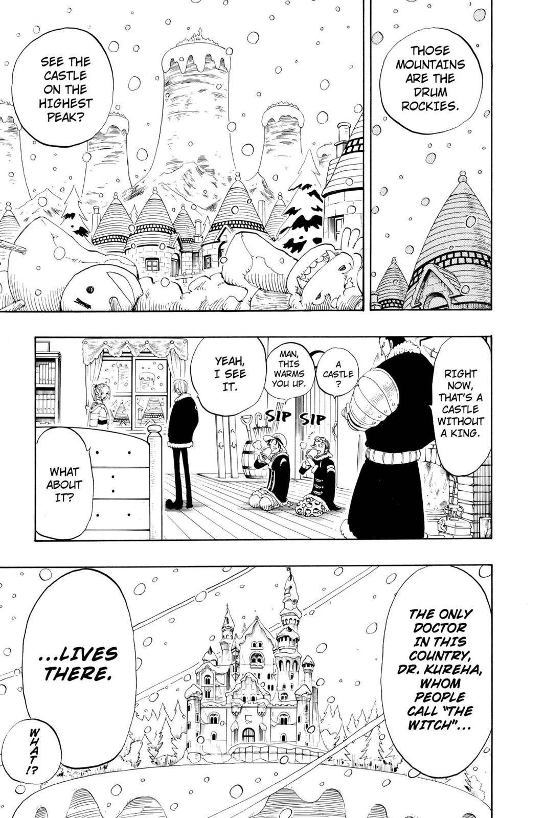 One Piece Chapter 133 Page 10