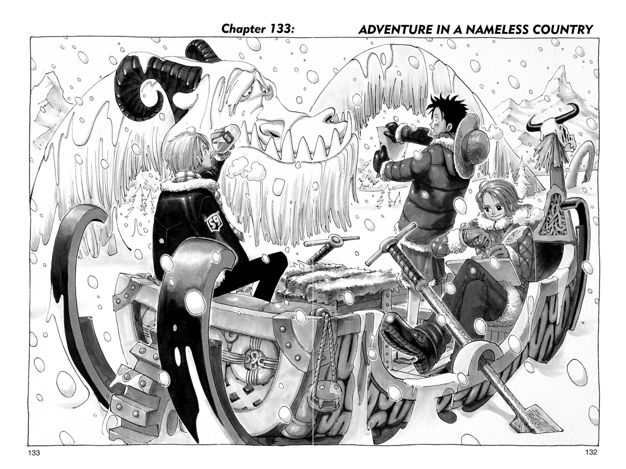 One Piece Chapter 133 Page 2