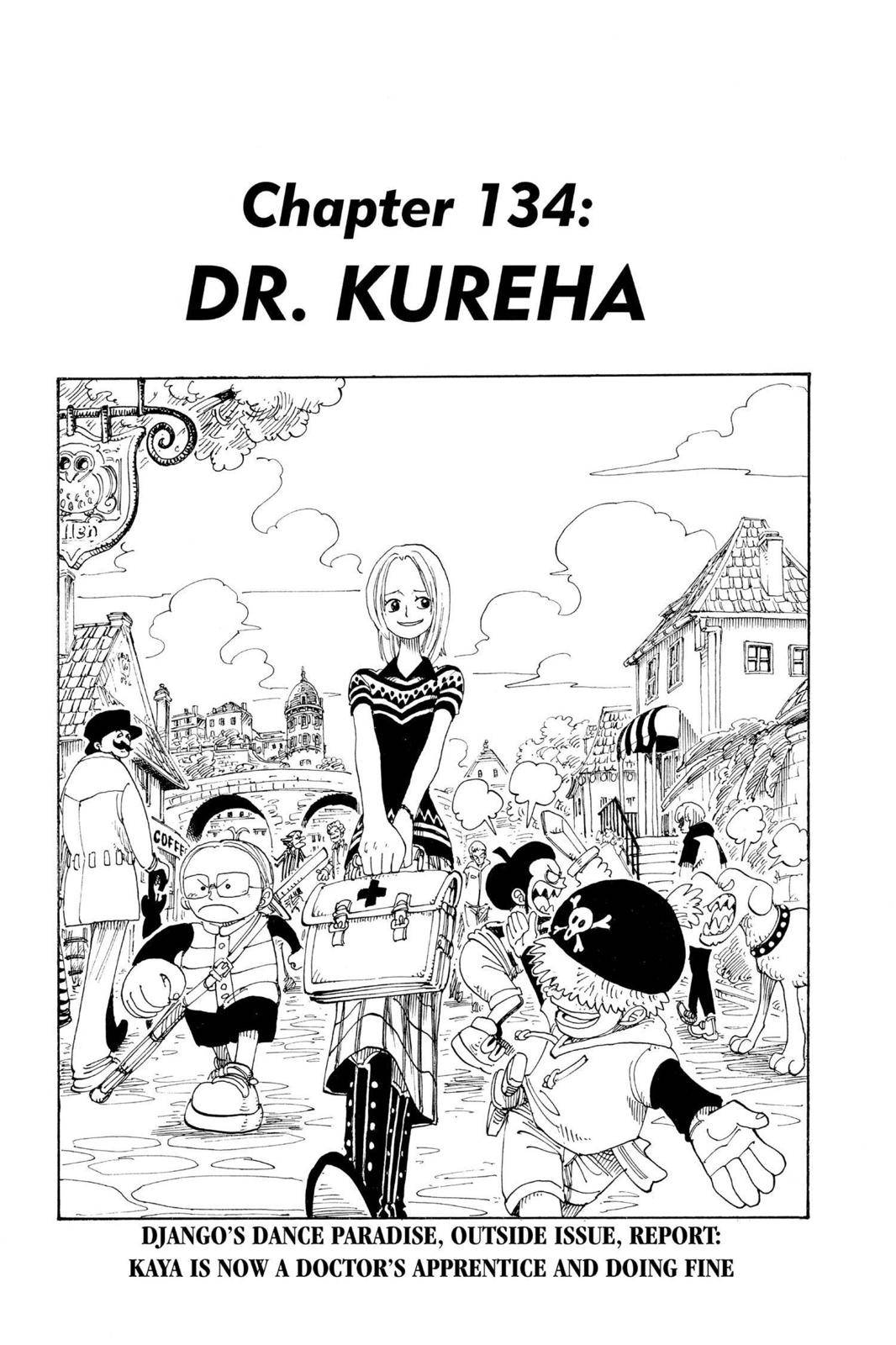 One Piece Chapter 134 Page 1