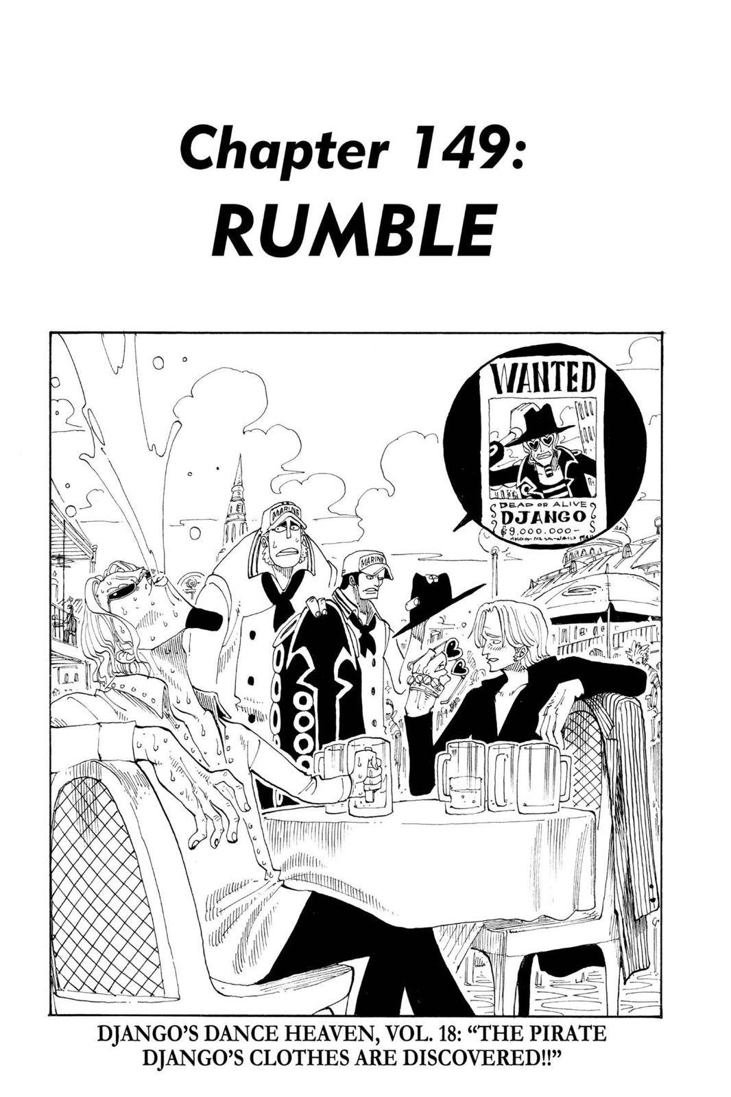 One Piece Chapter 149 Page 1