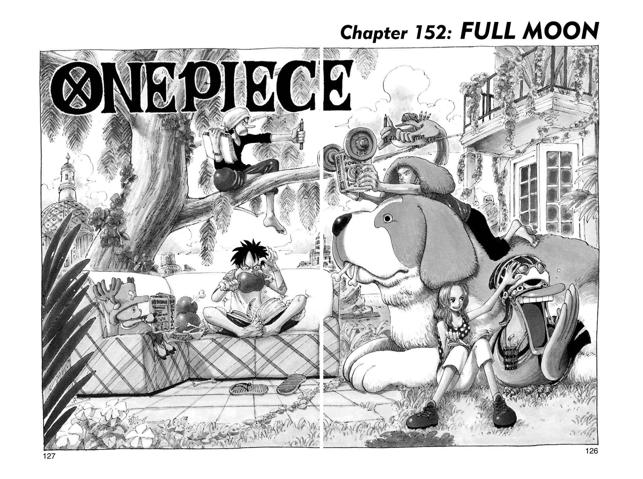 One Piece Chapter 152 Page 1