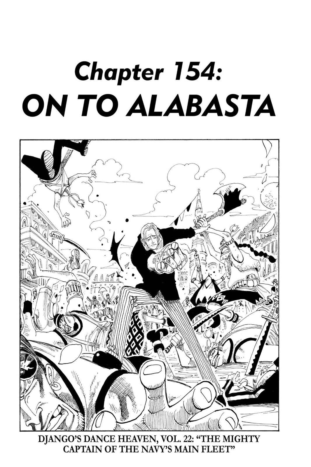 One Piece Chapter 154 Page 1