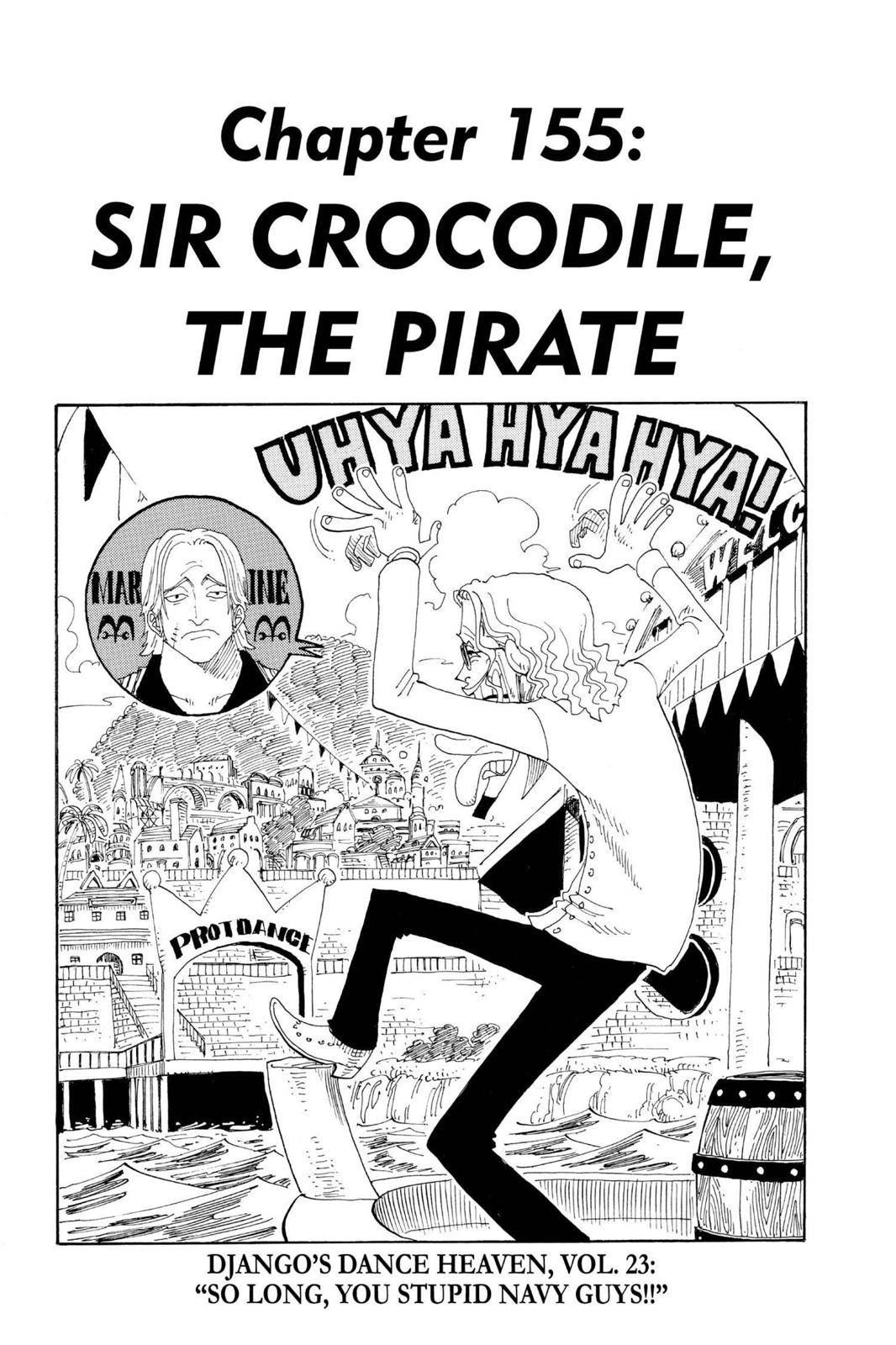 One Piece Chapter 155 Page 1
