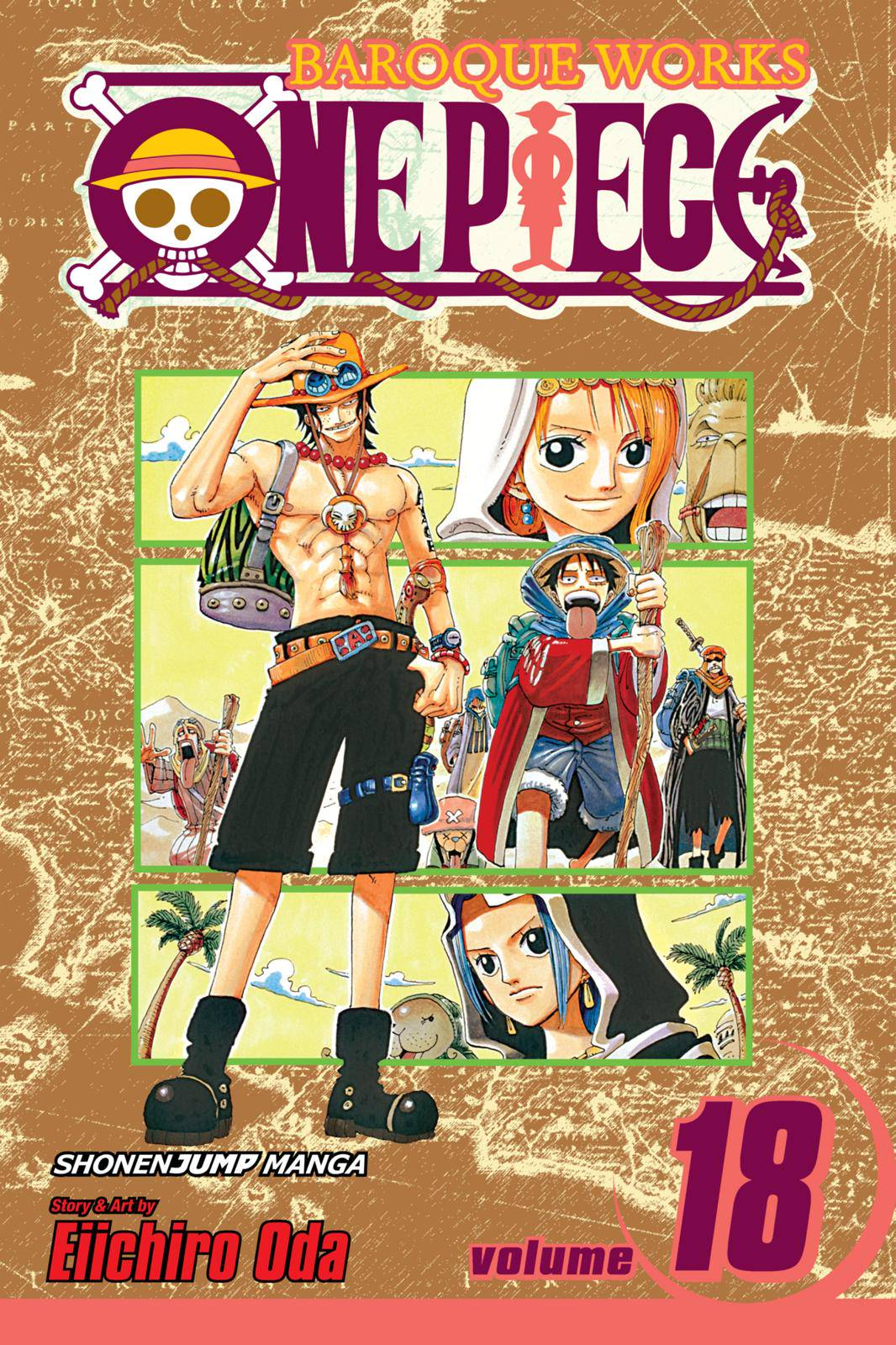 One Piece Chapter 156 Page 1