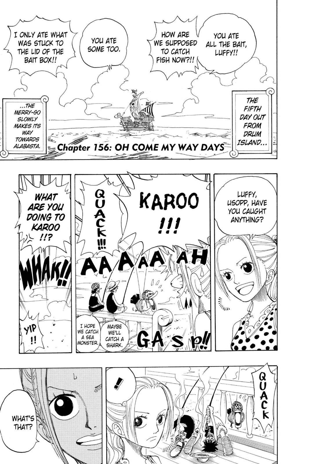 One Piece Chapter 156 Page 7