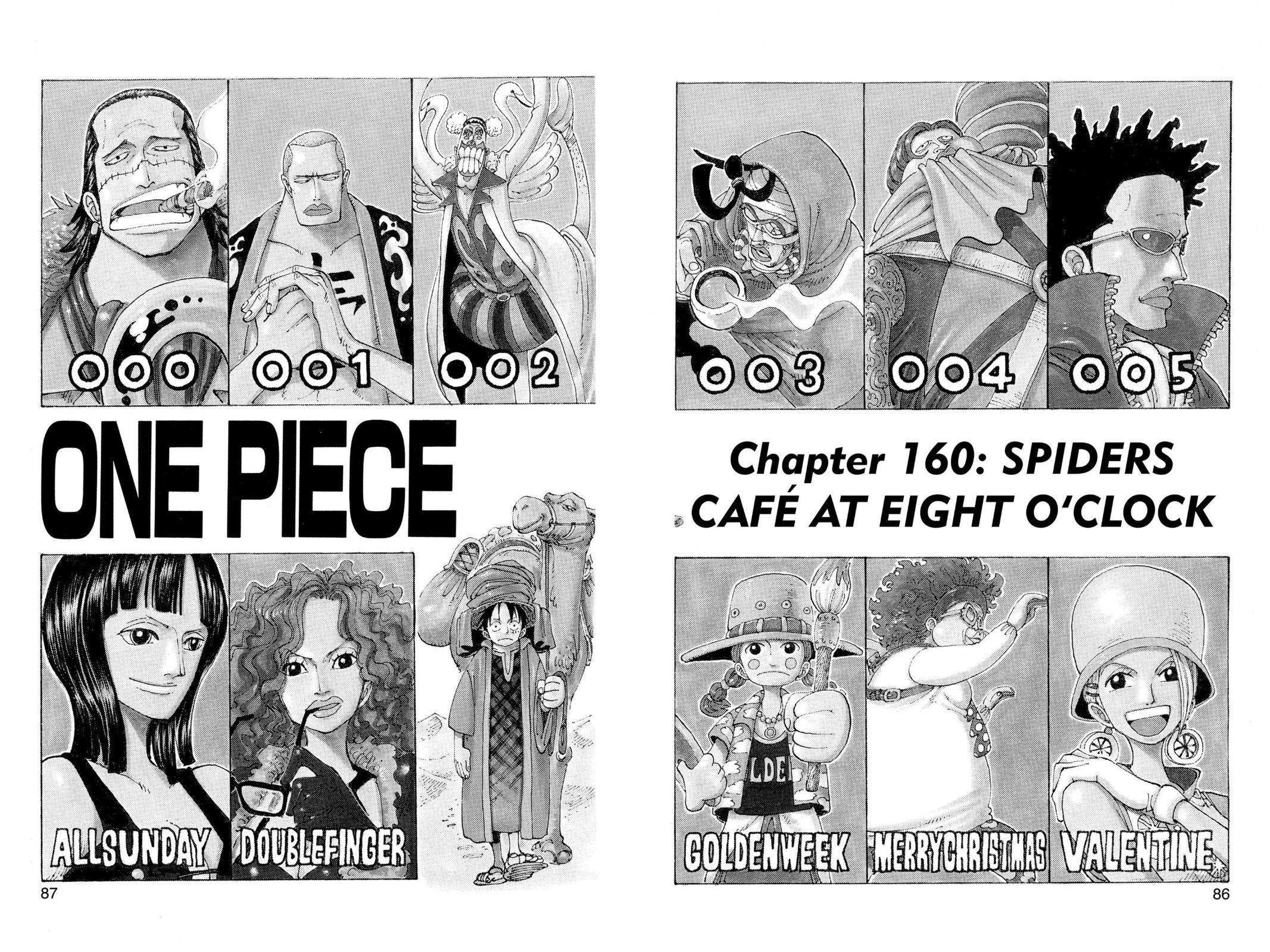 One Piece Chapter 160 Page 1
