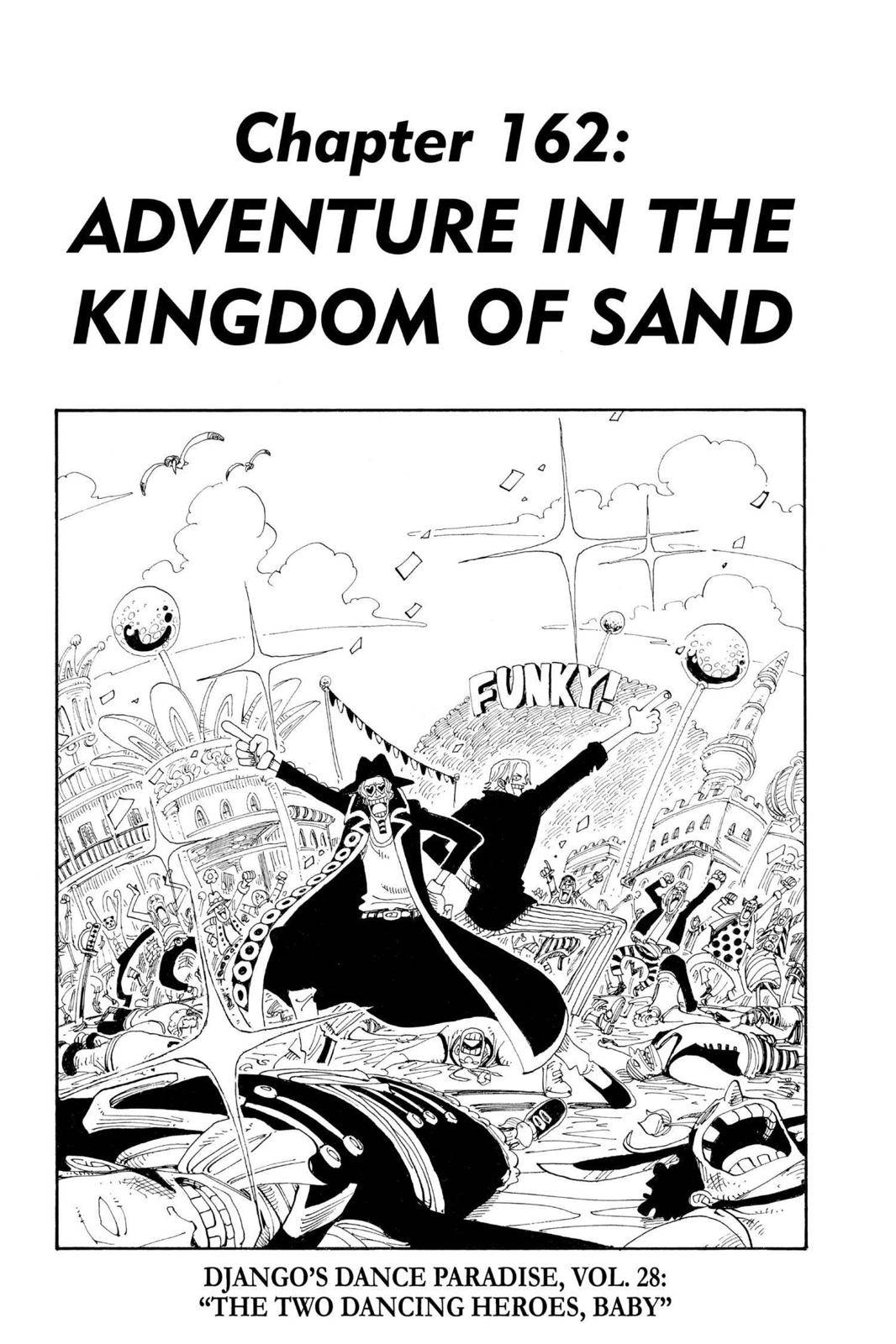 One Piece Chapter 162 Page 1