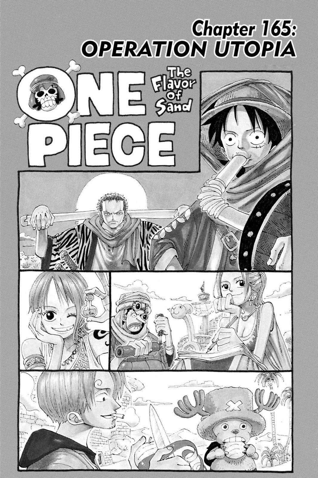 One Piece Chapter 165 Page 1