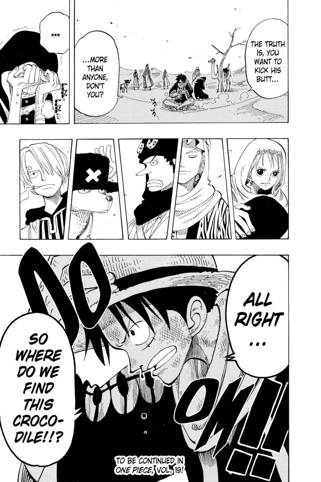 One Piece Chapter 166 Page 19