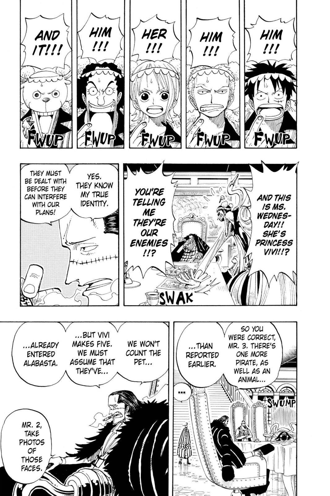 One Piece Chapter 166 Page 7