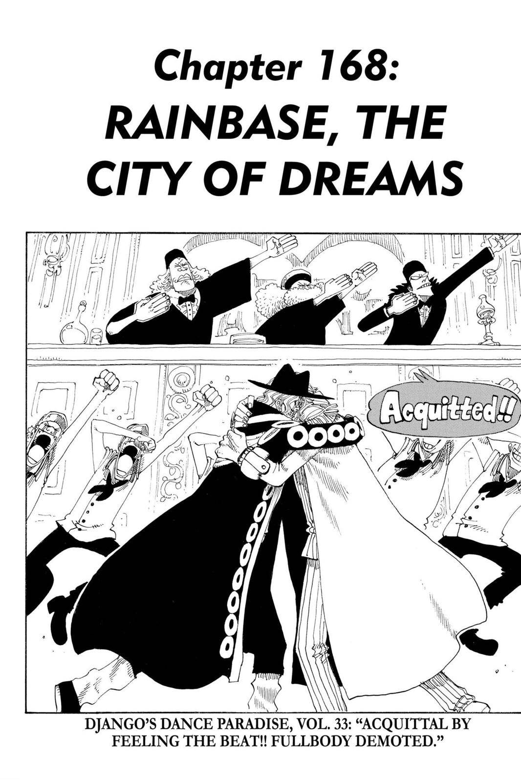 One Piece Chapter 168 Page 1