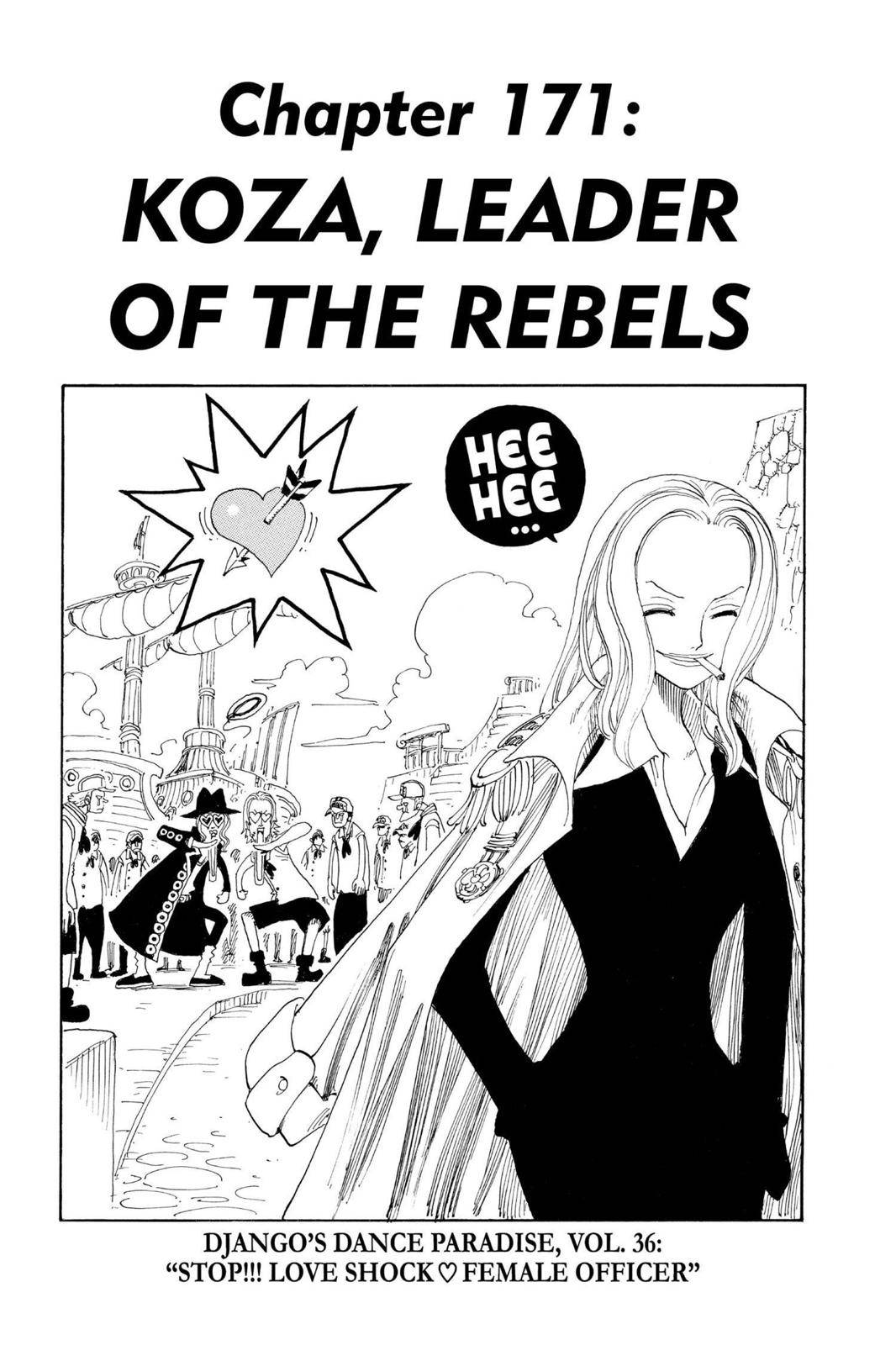 One Piece Chapter 171 Page 1
