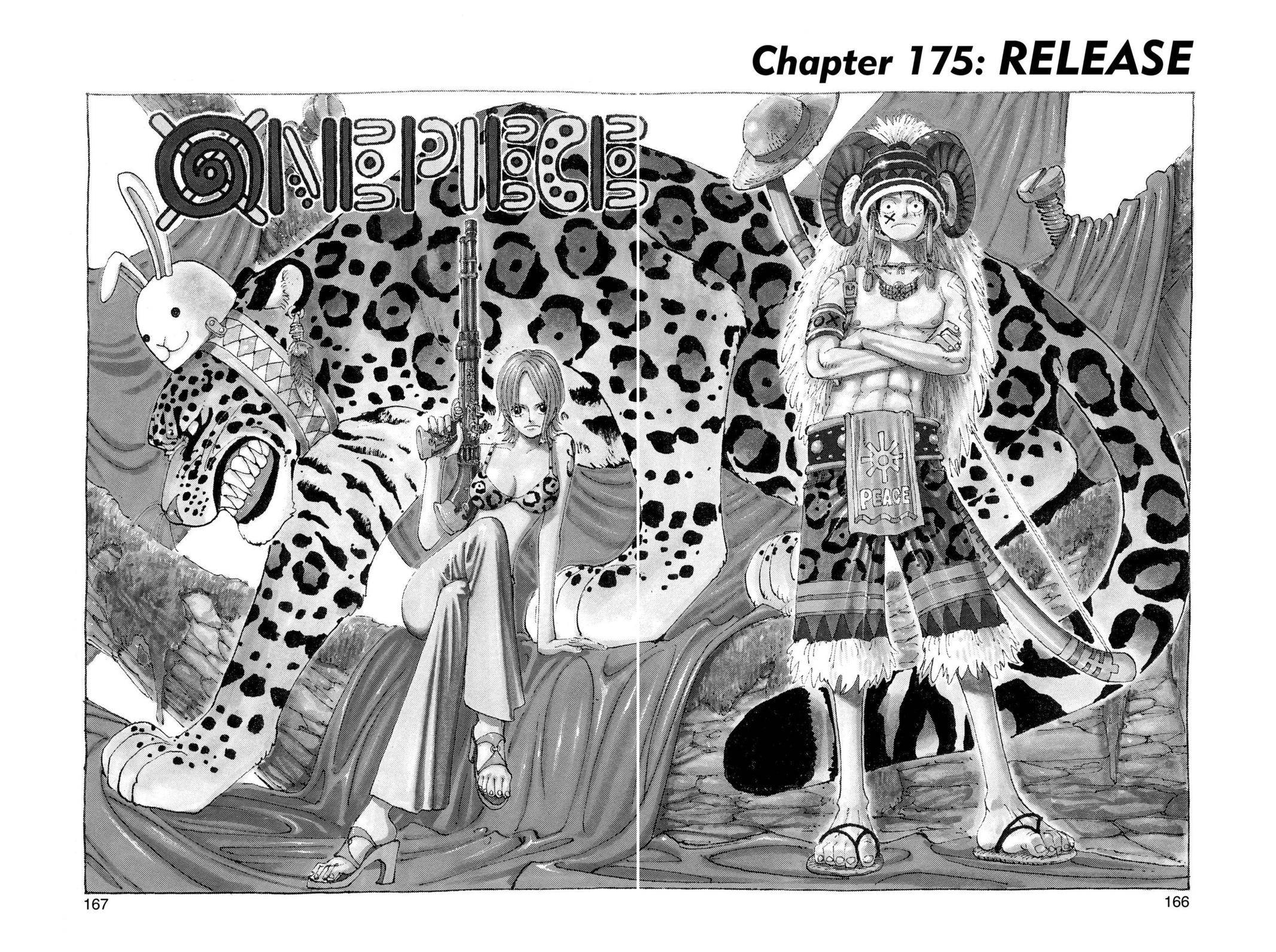 One Piece Chapter 175 Page 1