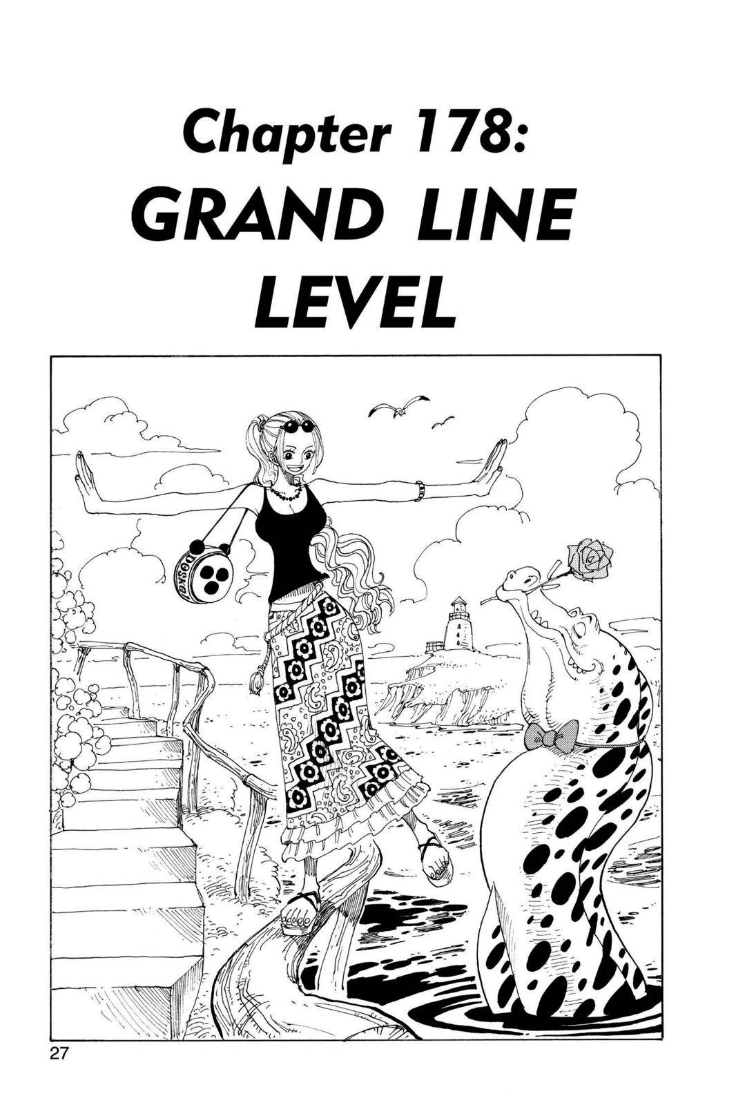 One Piece Chapter 178 Page 1