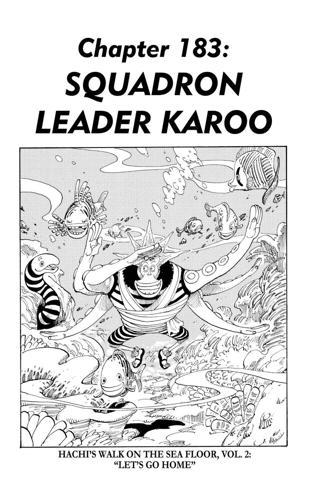 One Piece Chapter 183 Page 1