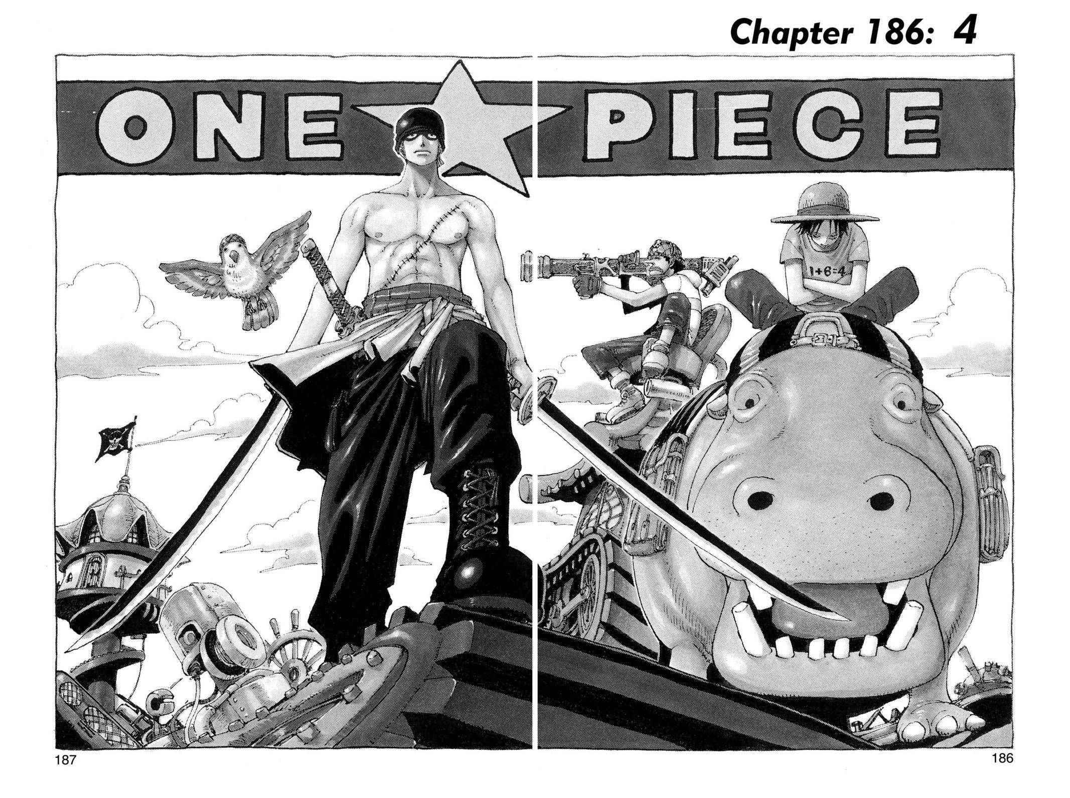 One Piece Chapter 186 Page 1