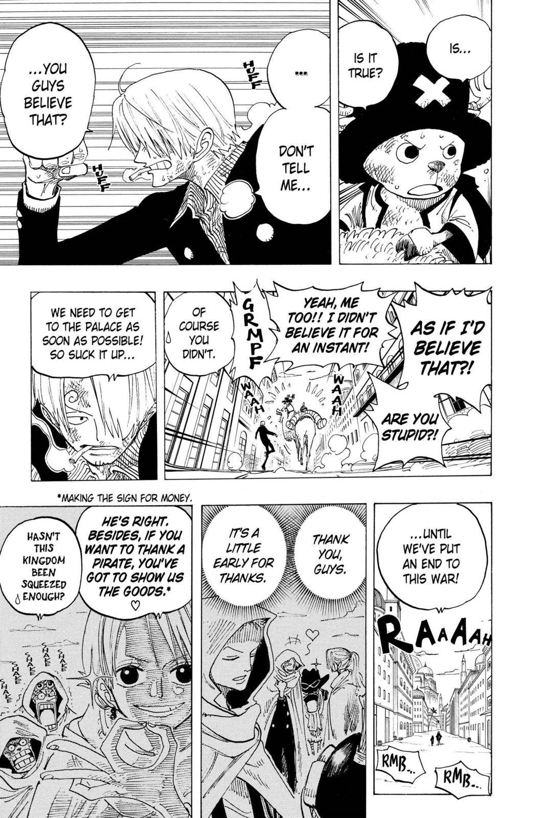 One Piece Chapter 196 Page 22