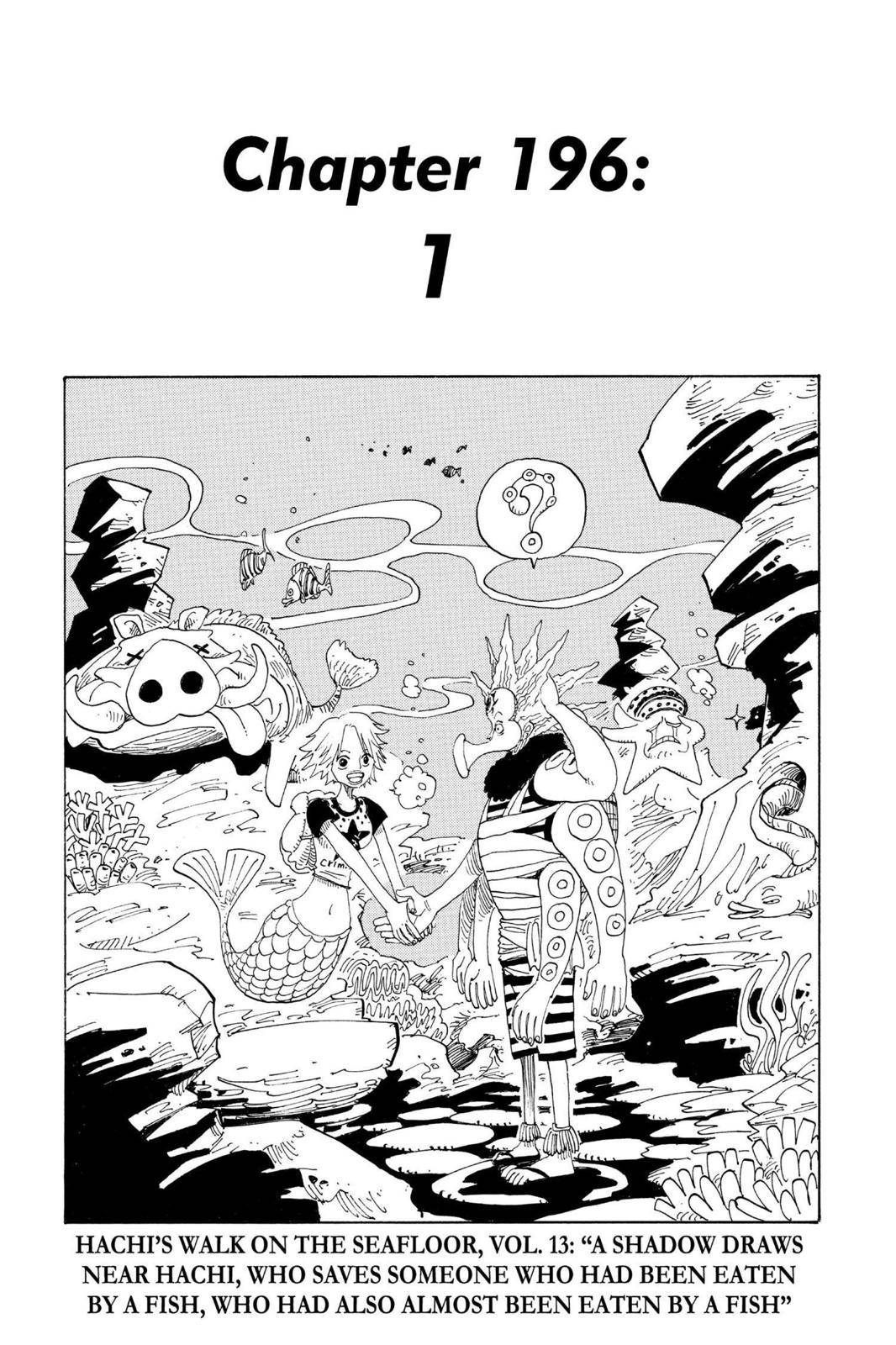 One Piece Chapter 196 Page 8