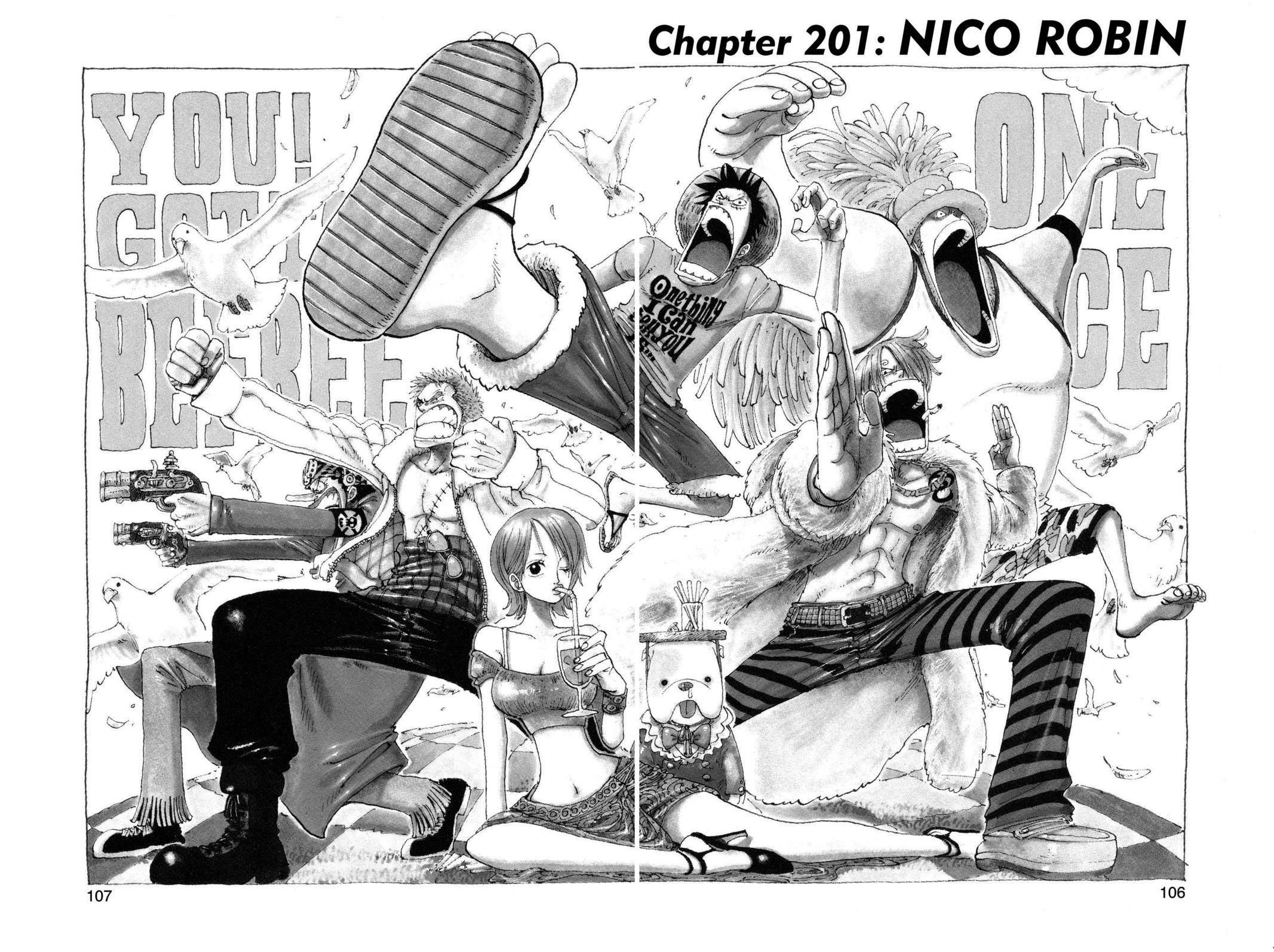 One Piece Chapter 201 Page 1