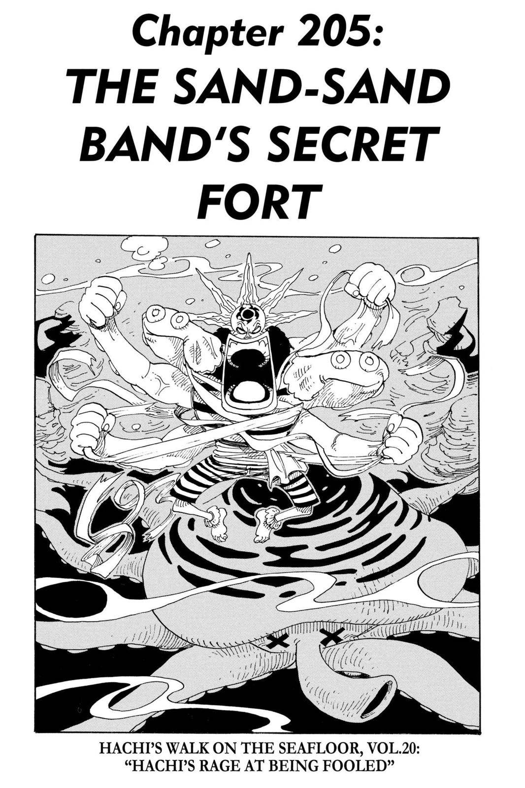 One Piece Chapter 205 Page 1