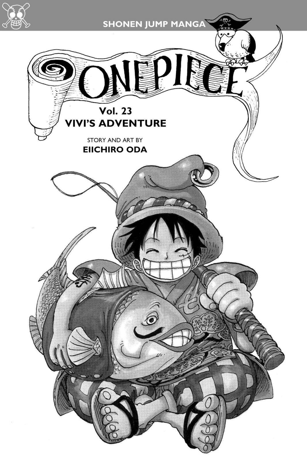 One Piece Chapter 206 Page 4
