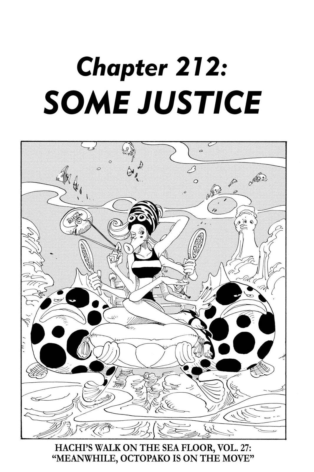 One Piece Chapter 212 Page 1