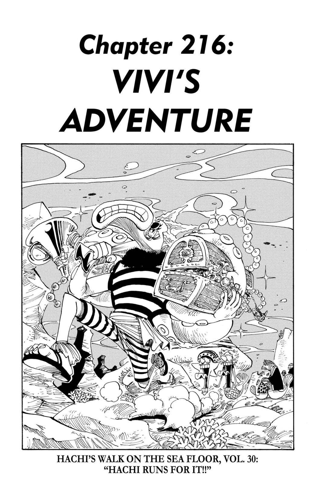 One Piece Chapter 216 Page 1