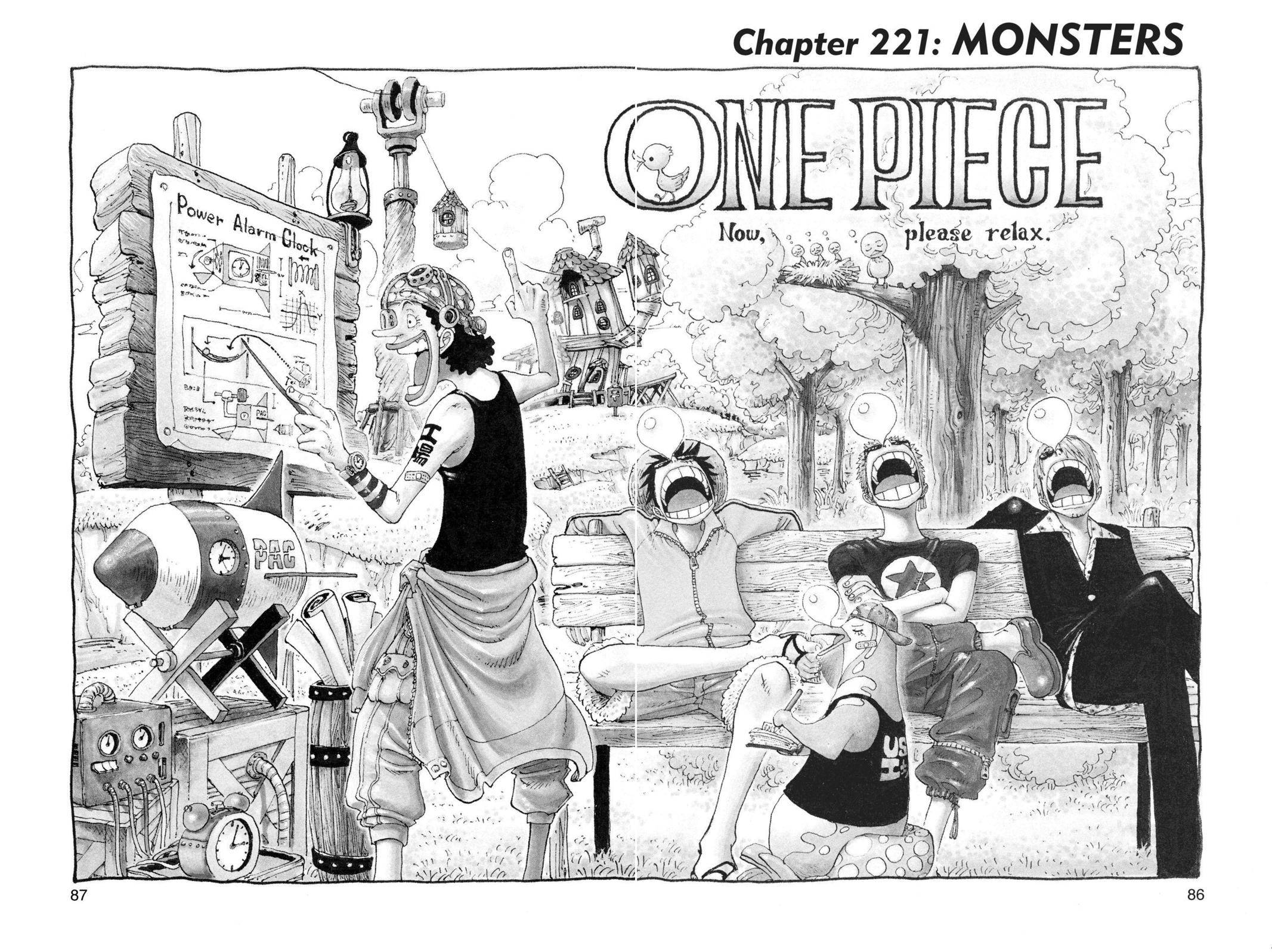 One Piece Chapter 221 Page 1
