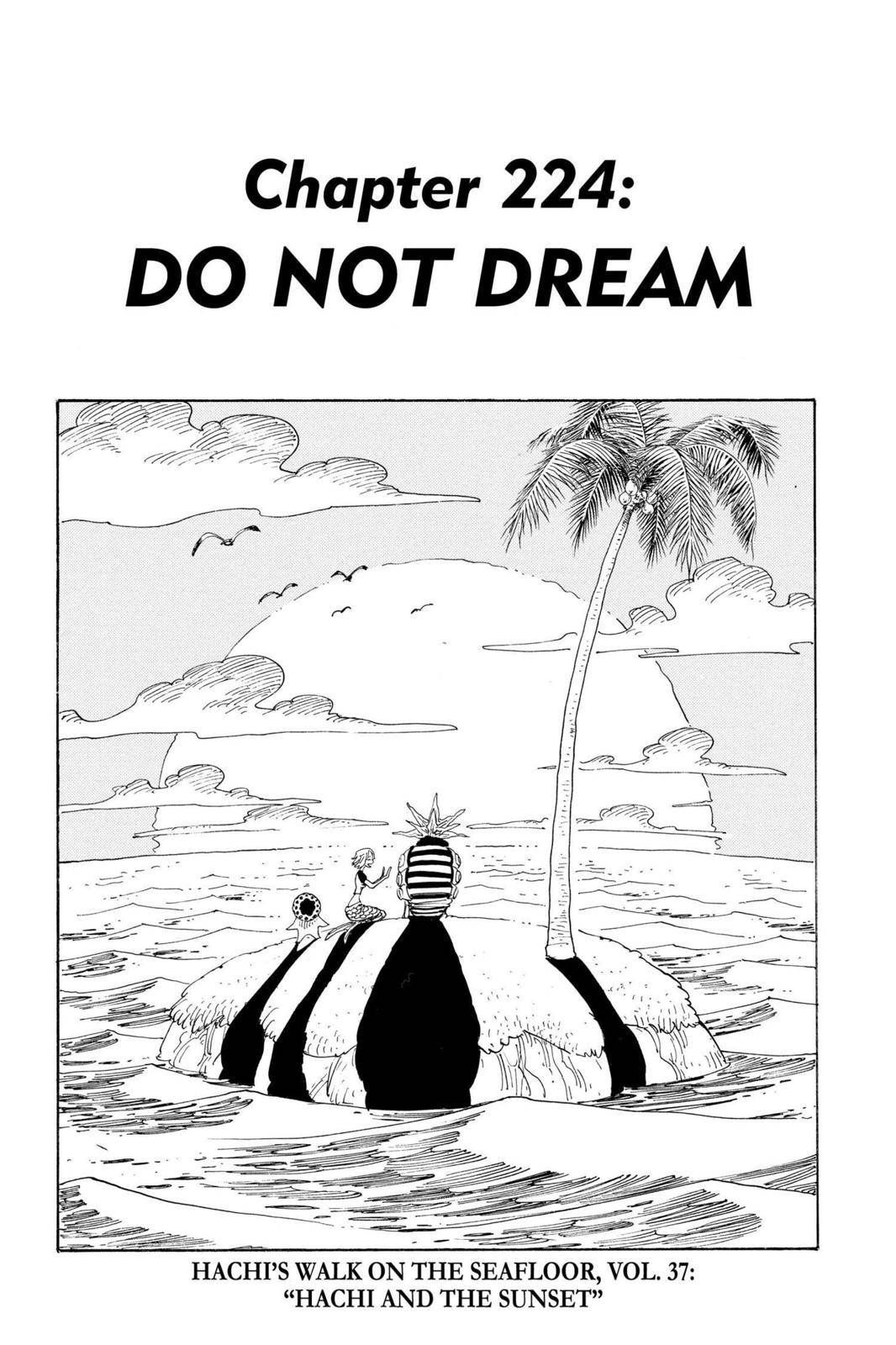 One Piece Chapter 224 Page 1