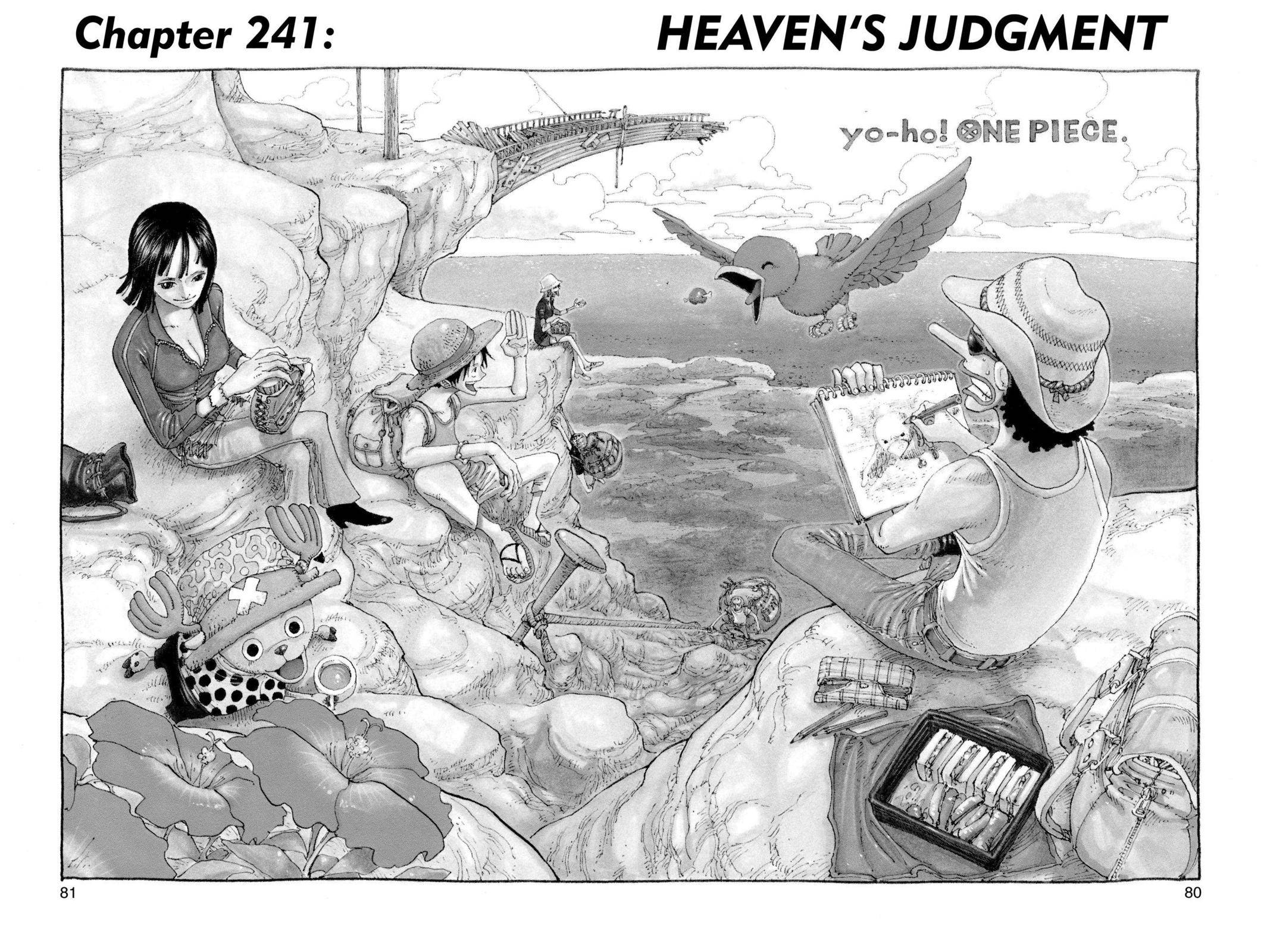 One Piece Chapter 241 Page 1