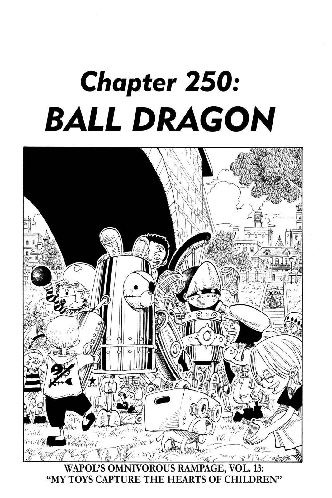 One Piece Chapter 250 Page 1