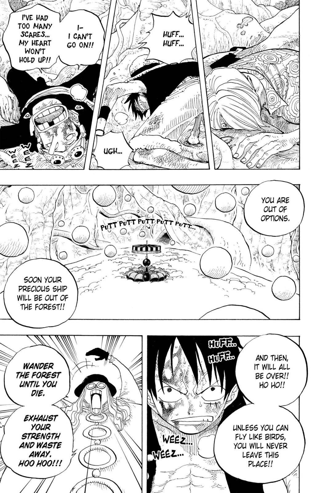 One Piece Chapter 250 Page 7