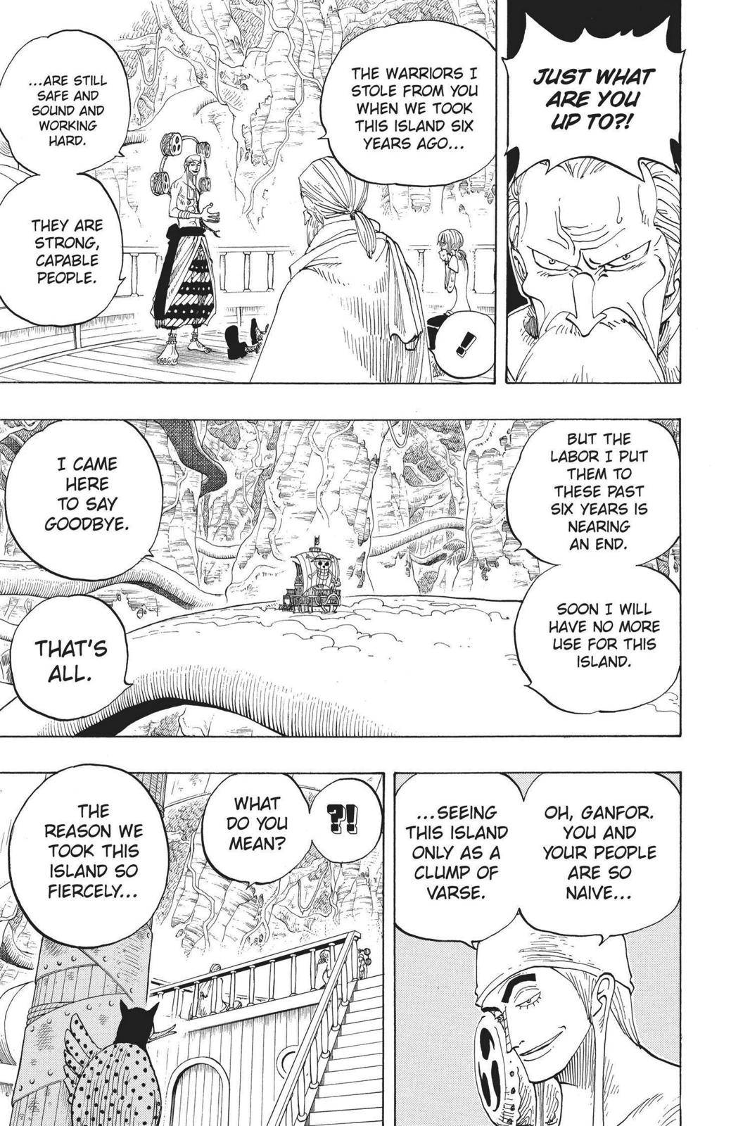 One Piece Chapter 260 Page 5
