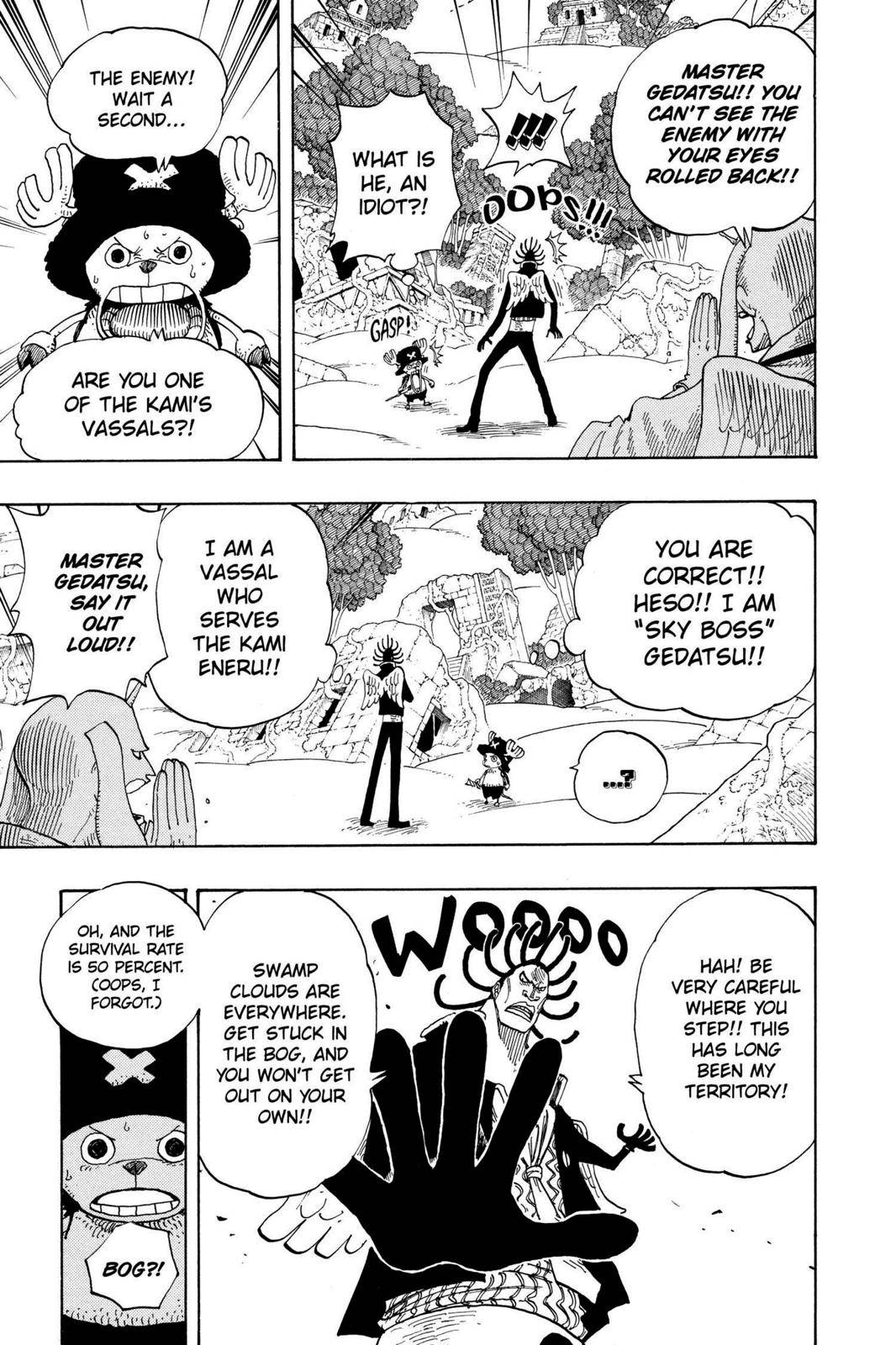 One Piece Chapter 262 Page 3