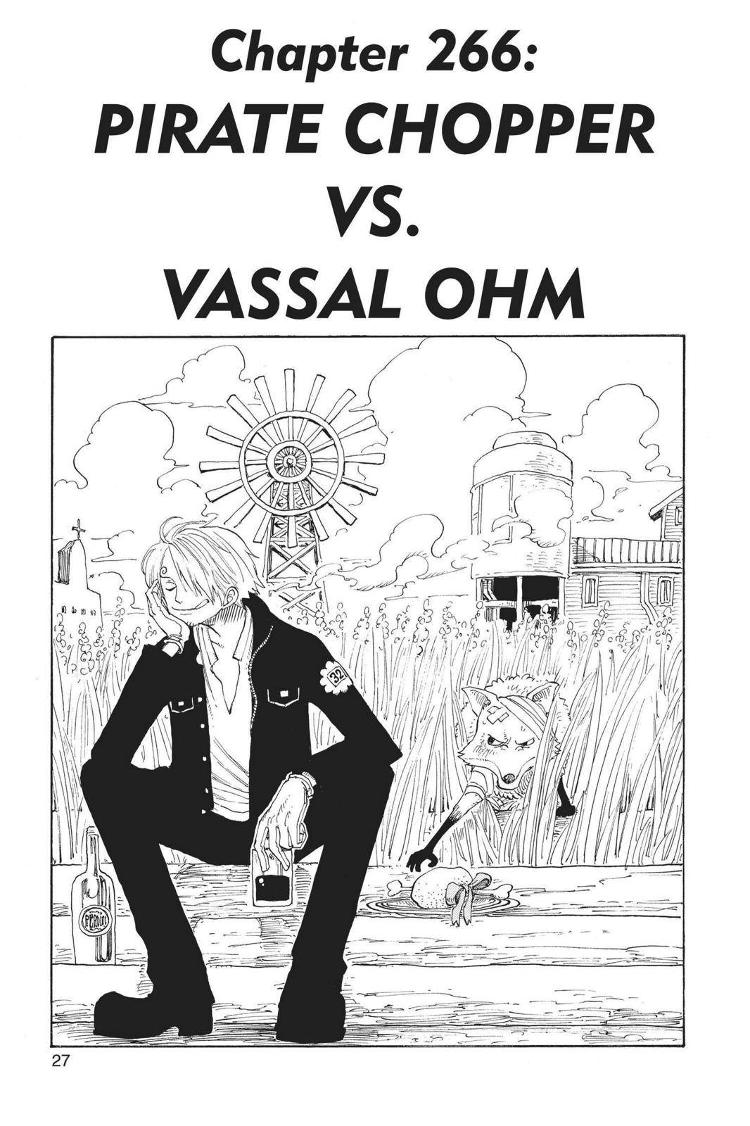 One Piece Chapter 266 Page 1