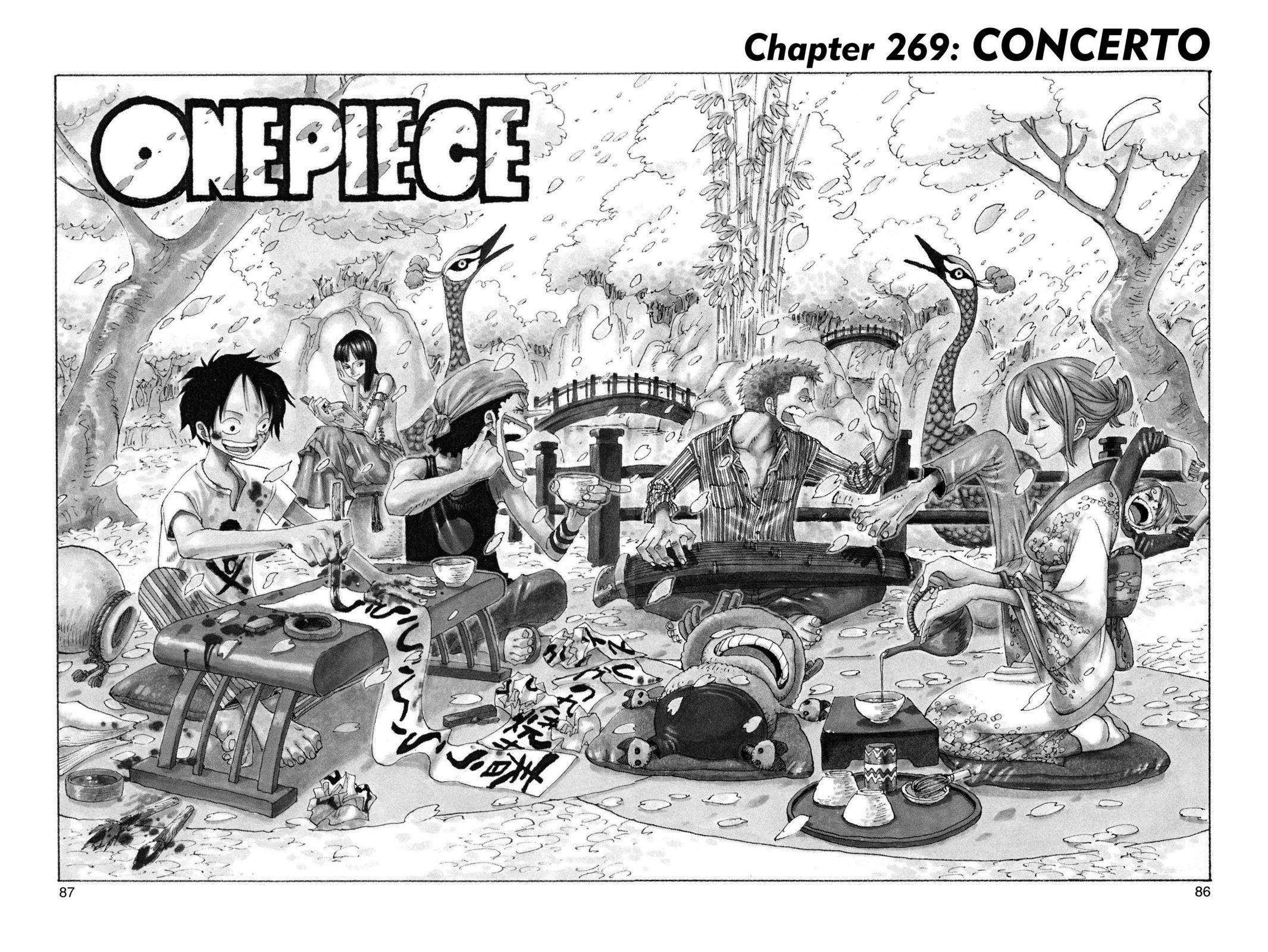 One Piece Chapter 269 Page 1