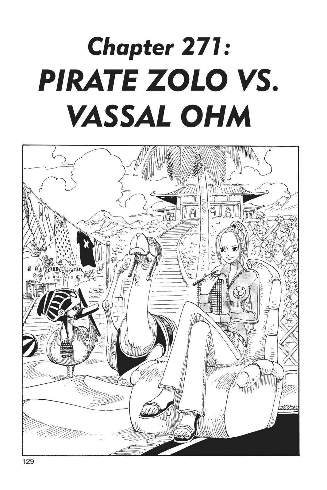 One Piece Chapter 271 Page 1