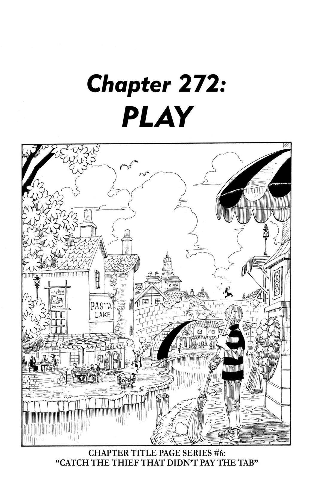 One Piece Chapter 272 Page 1