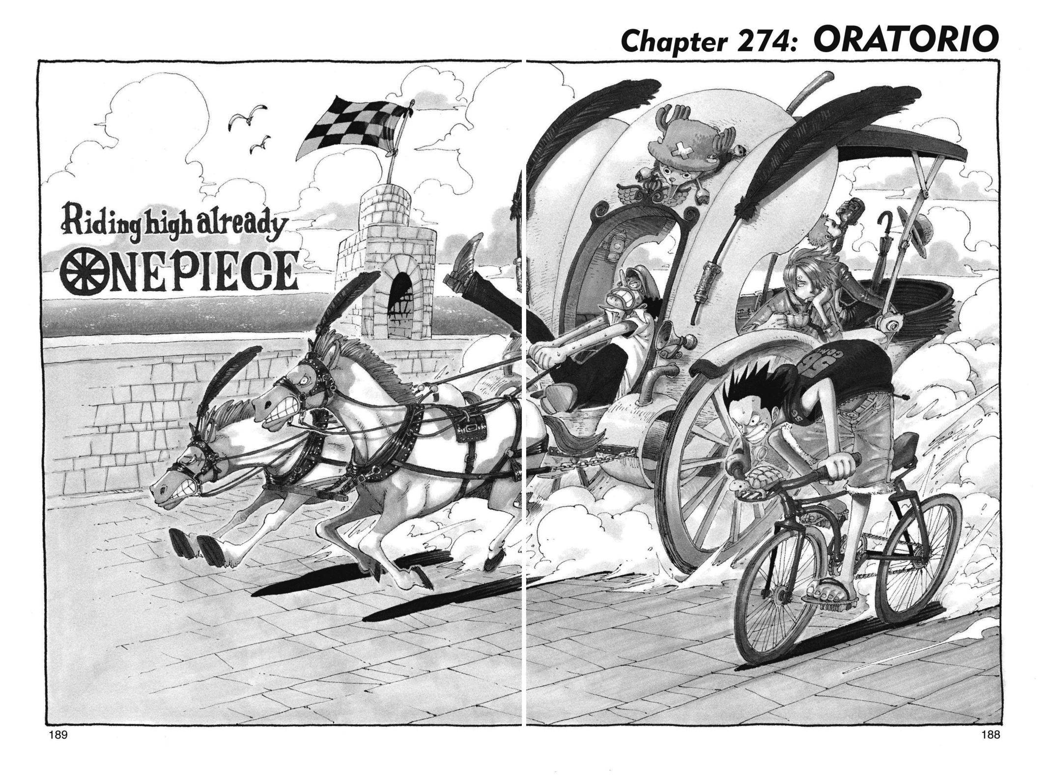 One Piece Chapter 274 Page 1