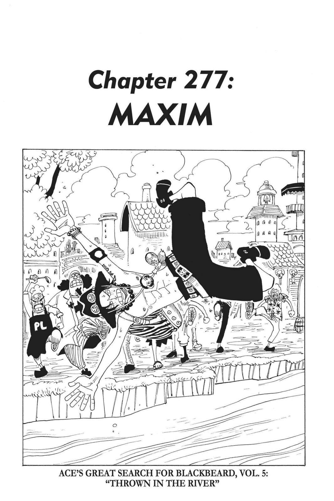 One Piece Chapter 277 Page 1