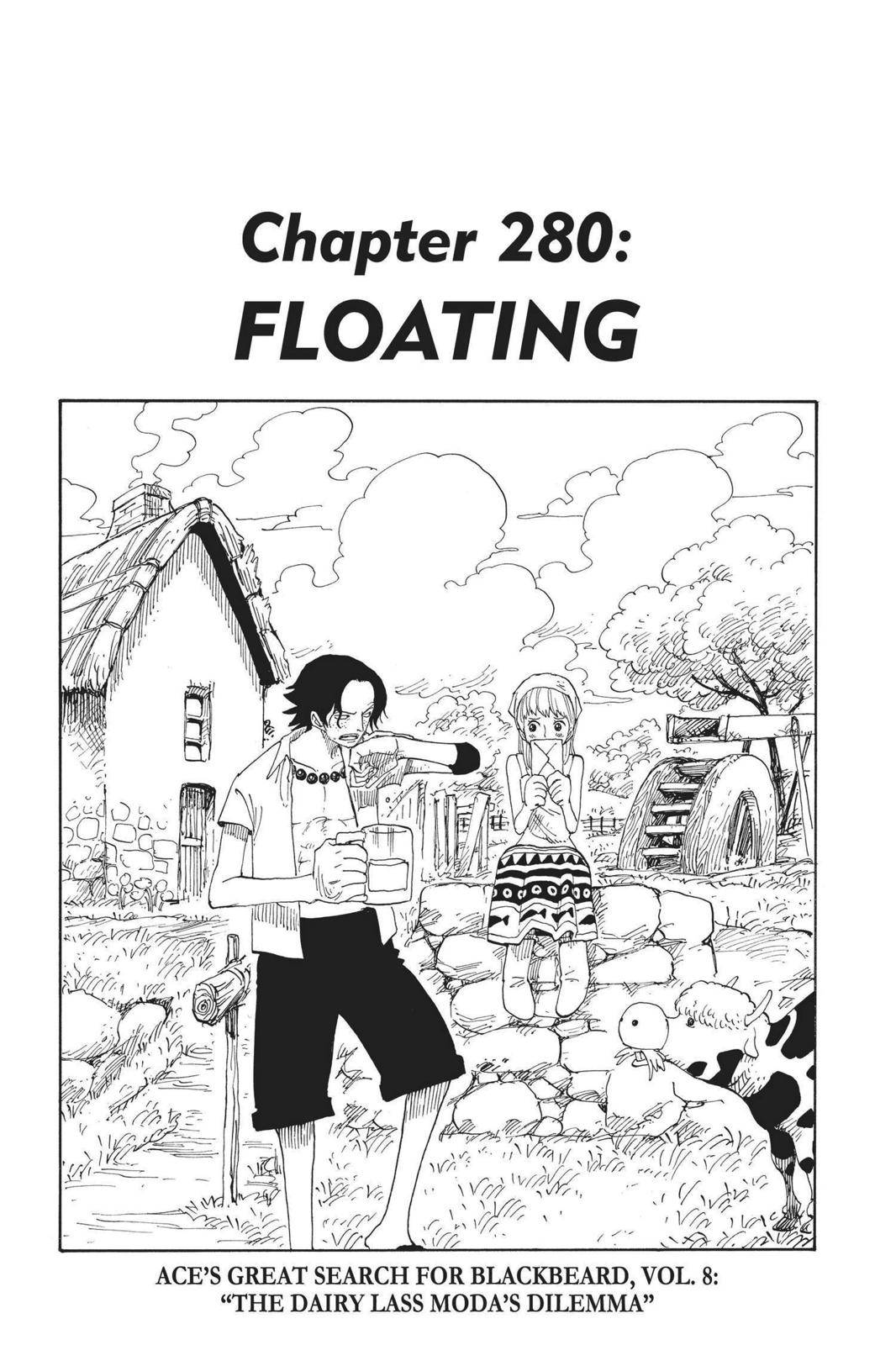 One Piece Chapter 280 Page 1