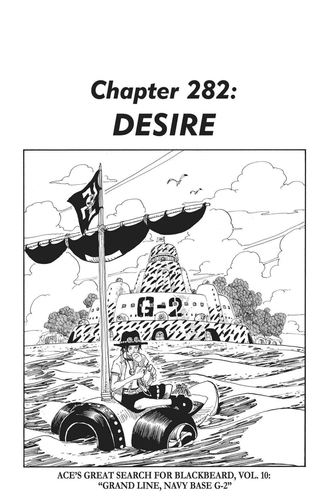One Piece Chapter 282 Page 1
