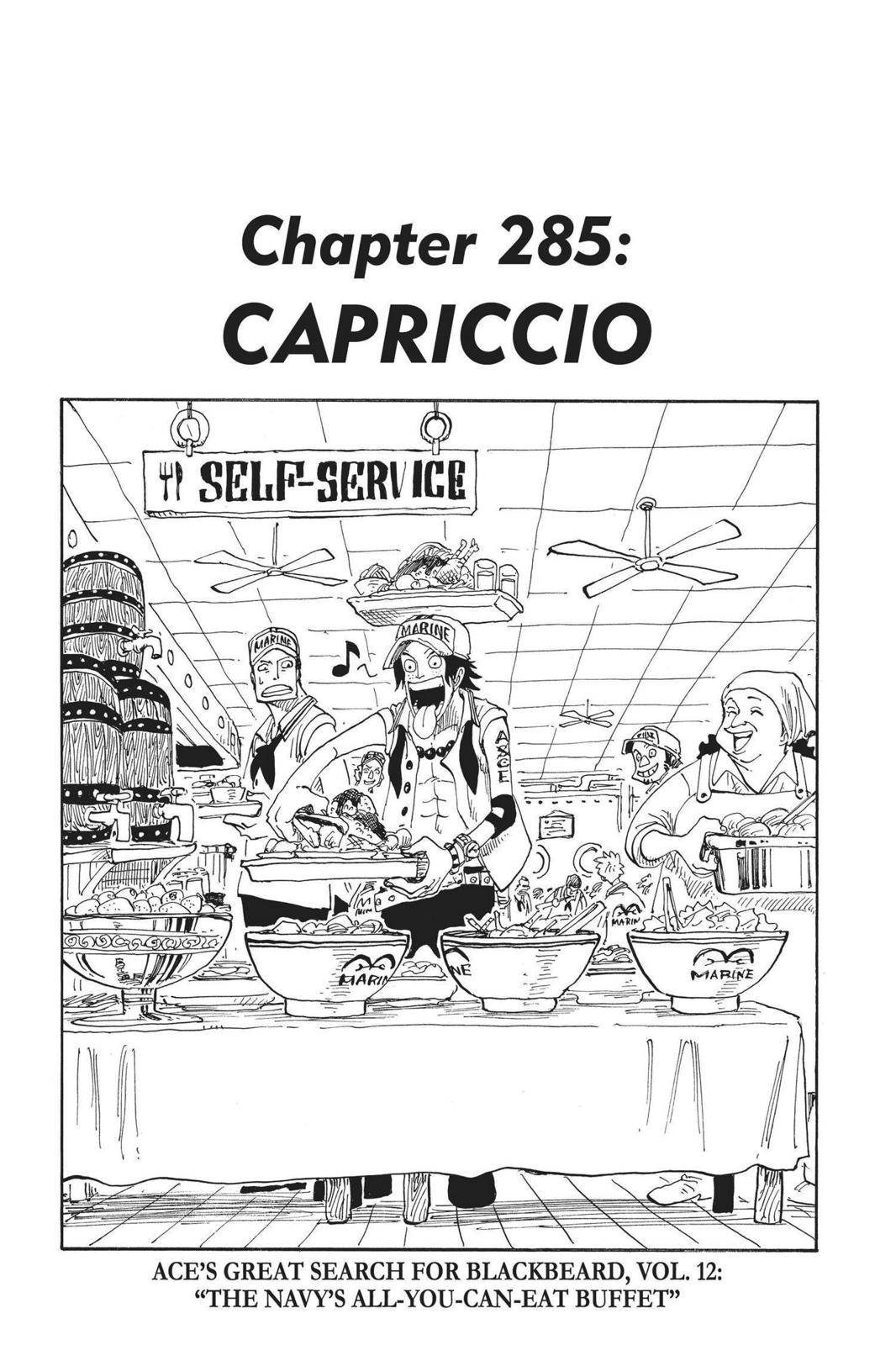 One Piece Chapter 285 Page 1