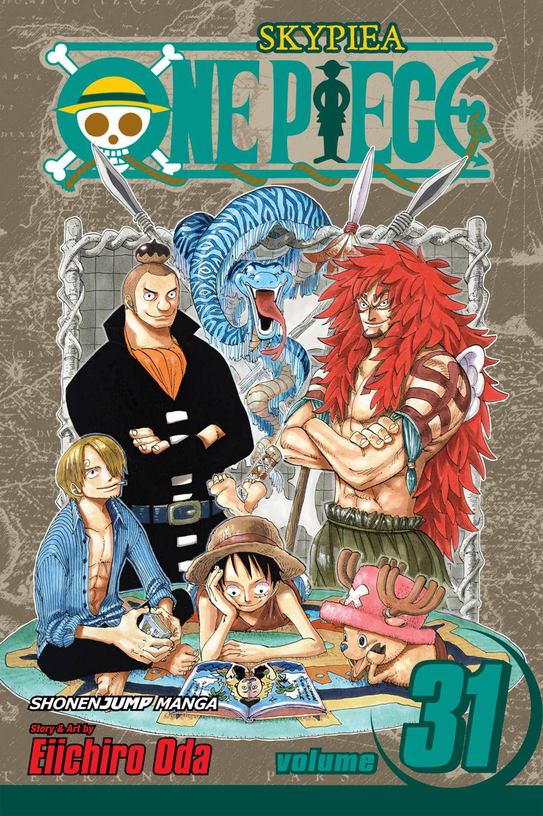 One Piece Chapter 286 Page 1