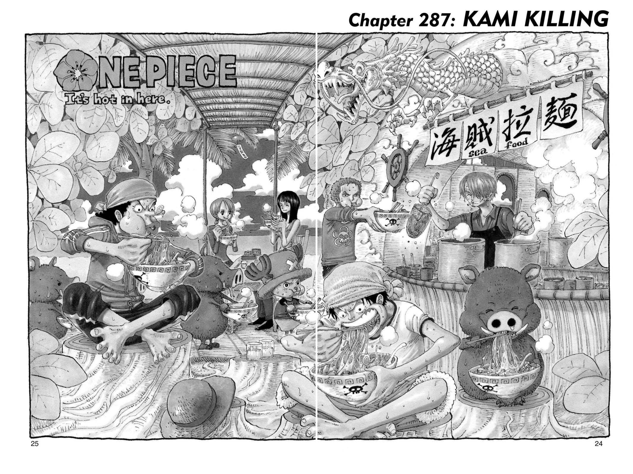 One Piece Chapter 287 Page 1